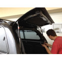 Fibreglass replacement door for CKT Nissan D40 Work I / Windows I