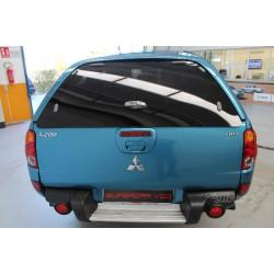 Szyba tylnych drzwi do hardtopu Mitsubishi L200 OEM -2009 MZ313658S3