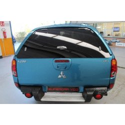 Rear glass for hardtop Mitsubishi L200 OEM 2006-2009 MZ313658S3