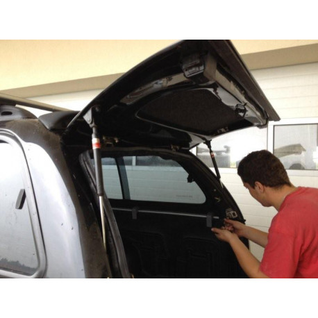 Fibreglass replacement door for CKT Toyota Hilux, VW Amarok Work I / Windows I