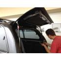 Fibreglass replacement door for CKT Toyota Hilux, VW Amarok Work I / Windows I