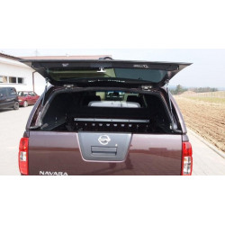 Rear glass for hardtop Carryboy S560 Toyta hilux CTVD / CTVC dark gray