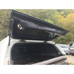 Tailgate - Rear glass with frame for Mitsubishi L200 - CKT Work II / Windows II