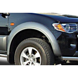 Fender Flares For Toyota Hilux -Vigo Dbl-Cab. Painted Grey