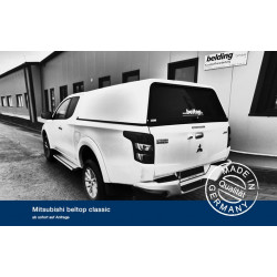 Hardtop Beltop Classic for Mitsubishi Club Cab 2016+