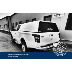 Hardtop Beltop Classic for Fiat Fullback Extended cab