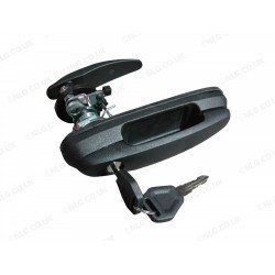 Rear locking handle for HT Cover King Top