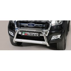 Front stainlesteel BAR 63 mm - Ford Ranger 16-