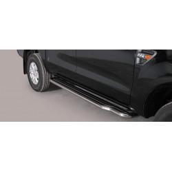 Nerezové boční nášlapy průměr 50 mm - Ford Ranger 16-
