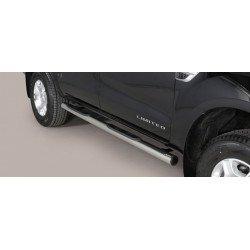 Nerezové boční nášlapy průměr 76 mm - Ford Ranger 16-