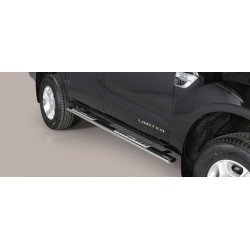 Nerezové boční nášlapy oválné - Ford Ranger 16-