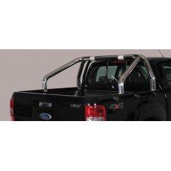 Nerezový rám korby single průměr 76 mm - Ford Ranger 16-
