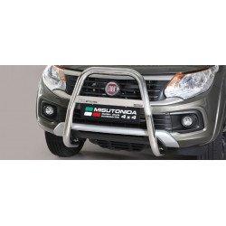 Přední ochranný rám vysoký průměr 63 mm - Fiat Fullback 16-