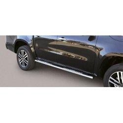 Nerezové boční nášlapy oválné - Mercedes X-class
