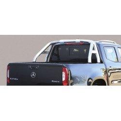 Nerezový rám korby design 76 mm - Mercedes X-class