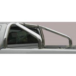 Nerezový rám korby single průměr 76 mm - Nissan NP300 Navara