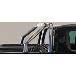 Nerezový rám korby design 76 mm - Nissan NP300 Navara