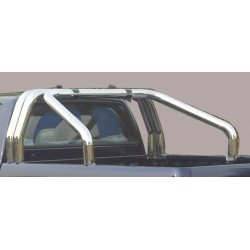 Nerezový rám korby double průměr 76 mm - Renault Alaskan