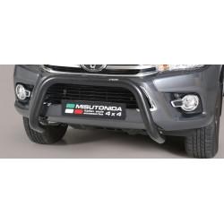 Přední ochranný rám průměr 76 mm - Toyota Hilux 16+