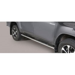 Boční nášlapy oválné - Toyota Hilux 16+