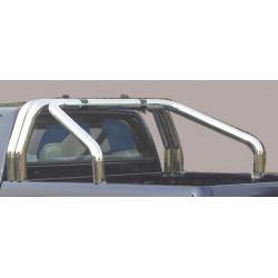 Nerezový rám korby double průměr 76 mm - Toyota Hilux 16+