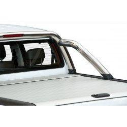 Mountain Top Aluminium Roll cover, silver Ford Ranger Super Cab