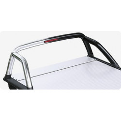 Mountain Top Aluminium Roll cover, black Ford Ranger Super Cab