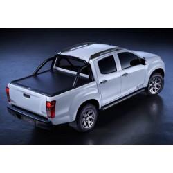 Mountain Top Aluminium Roll cover black L200 2015- C/C, Fiat 2015- C/C
