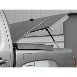 Pro-Form VW Amarok Sportlid II cover, for VW OE Styling bar, black grain ABS surface