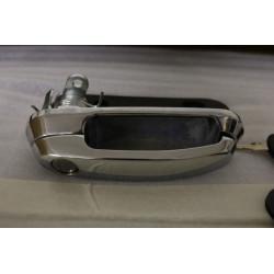 maniglia con serratura e due anelli per hardtop Road Ranger - chrome