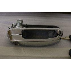 maniglia con serratura e due anelli per hardtop Aeroklas - chrome