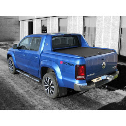 Mountain Top coperchio rullo in alluminio nero VW Amarok Aventura 2016-
