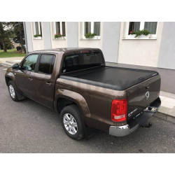 Mountain Top Aluminium Roll cover black VW Amarok 2010- D/C