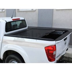 Mountain Top Aluminium Roll cover black Nissan Navara NP300 2015- D/C
