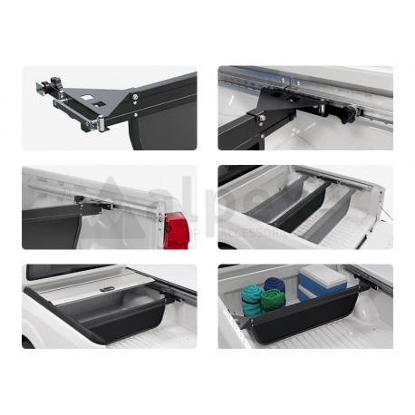 Mountain Top Bed Divider for C-channel system