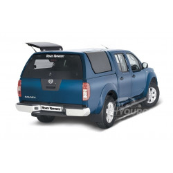 Rear glass for hardtop Road Ranger RH Nissan Navara D40
