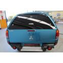 Tylne szklane drzwi do hardtop Mitsubishi L200 OEM 2006-2009 MZ313658S2