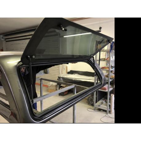 Right side Pop-UP complete glass for Hardtop CKT Wind II RAM,F-150
