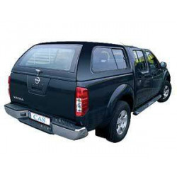 Hardtop Nissan Navara D40 DC model 570 side sliding windows