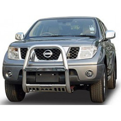 """A Bar + Plate Guard Stainless Steel 3"""" for Ford Ranger - přední ochranný rám z nerezu"""