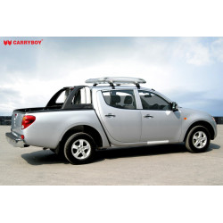 CB 706 Mitsubishi L200 Ellipse Tube Aluminum Roll Bar