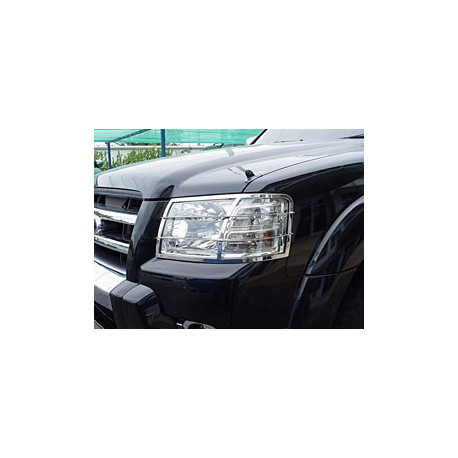 Tail Light Guards Stainless Steel for Ford Ranger