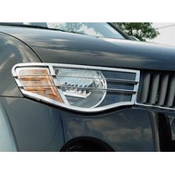 Head Light Guards Stainless Steel for Mitsubishi L200.MK.5 (Triton)