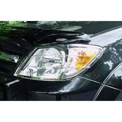 Head Light Guards Stainless Steel for Toyota Vigo - Hilux