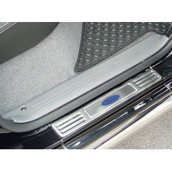 Sill Plates Stainless Steel for Toyota Vigo-hilux