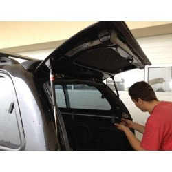 Fibreglass replacement door CKT Ford Ranger, NP300 Work I / Windows I