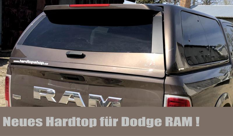 New hardtop for Dodge RAM