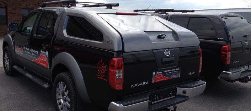 Hardtop CKT Sport for Nissan Navara D40